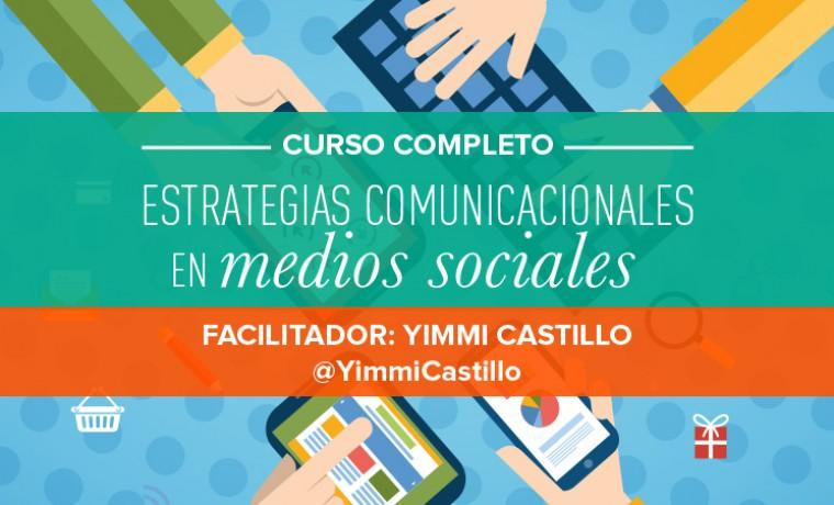 CURSO: Estrategias Comunicacionales en medios sociales