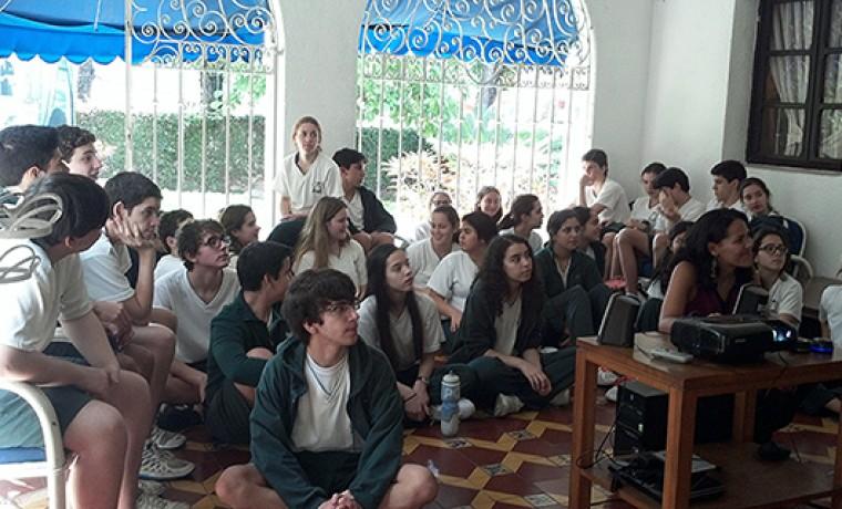 Colegio Integral El Ávila recorre los rincones de la Casa Arturo Uslar Pietri