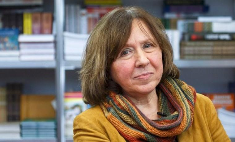 La bielorrusa Svetlana Alexiévich gana premio Nobel de Literatura
