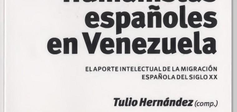 Humanistas españoles en Venezuela