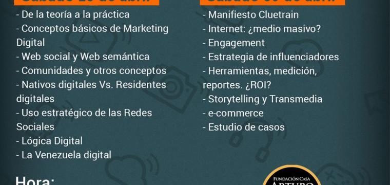 CURSO: Estrategias de comunicación en medios sociales