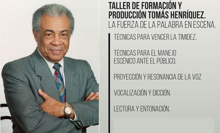 Aprende el arte de hablar en público con el Taller de formación y producción Tomás Henríquez