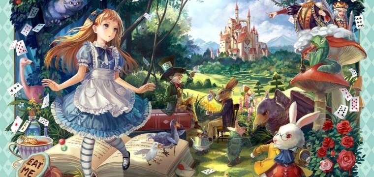 Alicia en país de las maravillas, de Lewis Carroll